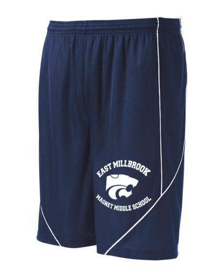 2navy shorts